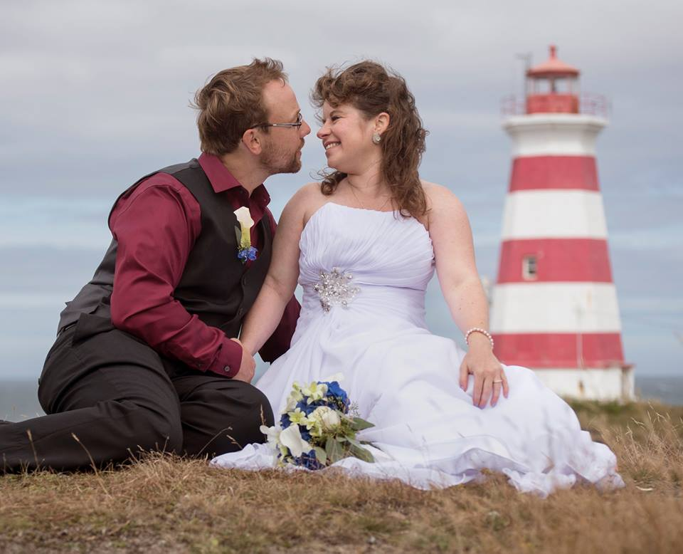 brier island lodge lighthouse wedding